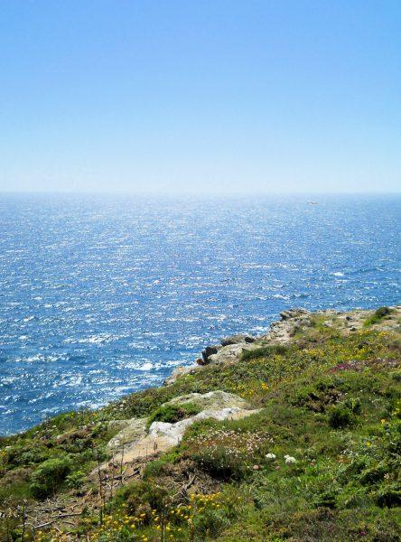 Ausblick vom Pointe du Raz in der Bretagne.